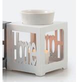 Aromed Aromaterapi Burner HOME Hvid