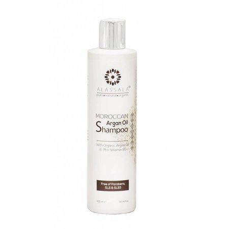 Alassala Marokkanske arganolie shampoo 300ml