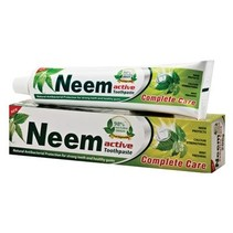 Neem aktiv naturlige tandpasta - 200g