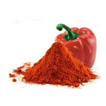 Organischer roter Paprika edelsüß Boden
