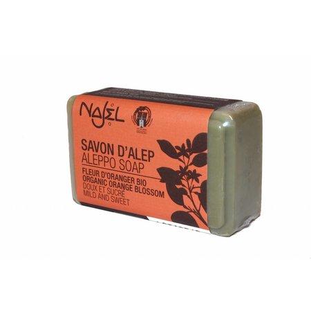 Najel Orange blossom Biologische zeep