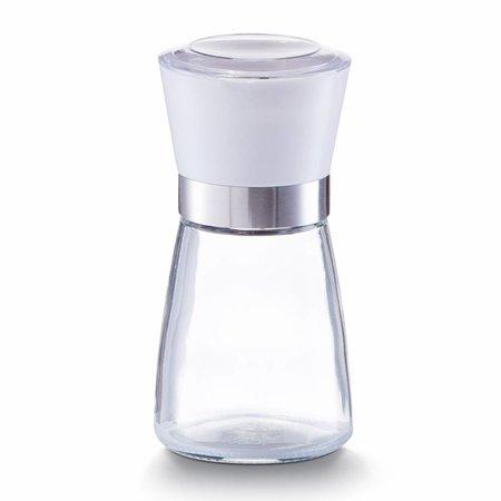Zeller Zoutmolen van glas met wit medium
