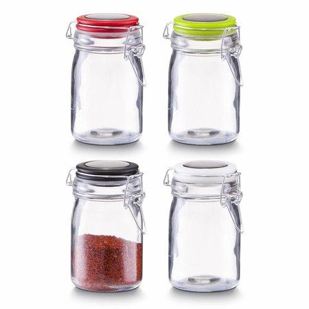 Zeller Specerijen potjes met beugelsluiting