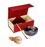 Matcha Magic Premium-Geschenkset - rot