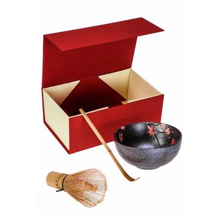 Matcha Magic Gift Box Matcha Deluxe - Red