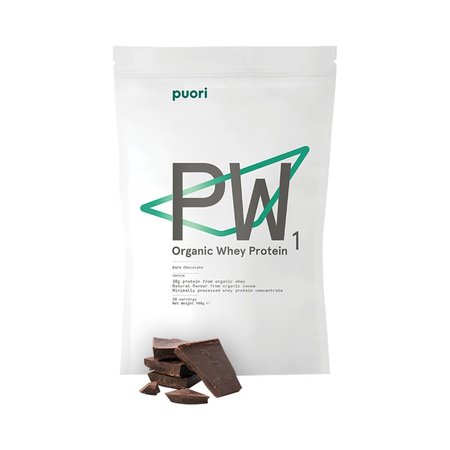 Puori PW1 Bio-Proteinpulver Zartbitterschokolade 900 g