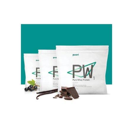 Puori PW1 økologisk protein pulver dark chokolate- 900 gr