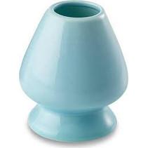 Halterung für Matcha-Besen in blau