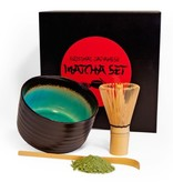 Matcha Magic Matcha Premium-Geschenkset - schwarz