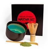 Matcha Magic Premium-Geschenkset - black