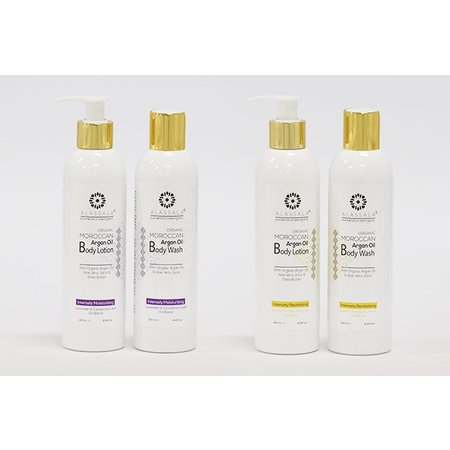 Alassala Bodylotion  - Orange, Argan, Shea, & Aloe Vera - 250 ml