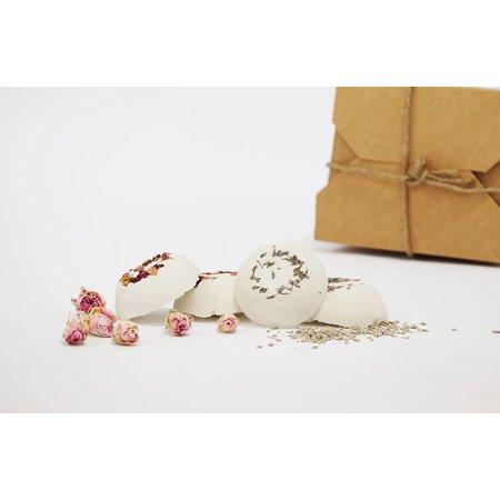 Alassala Geschenkset - Badetrüffel Rose & Lavendel