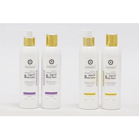 Alassala Bodylotion  - Lavendel, Argan, Shea, & Aloe Vera - 250 ml