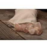 Nutrikraft Himalaya steenzout brokken roze - 3 kg