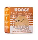 Kongy 100% natuurlijke konjac spons - aziatische aarde