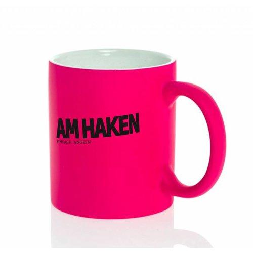 Am Haken Kaffetasse pink