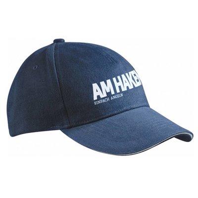 """Cap """"AM HAKEN"""", blau"""