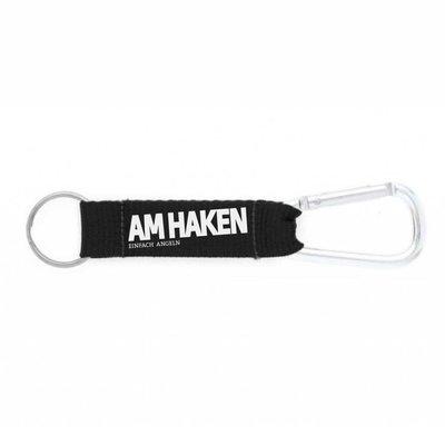 Schlüsselanhänger AM HAKEN schwarz