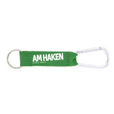 Schlüsselanhänger AM HAKEN grün