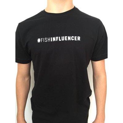 #Fishinfluencer T- Shirt Aboprämie schwarz inkl. Jahresabonnement  - Copy