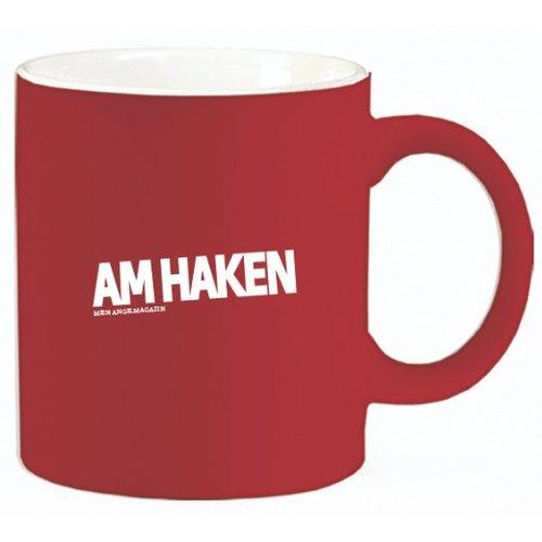 Am Haken Kaffetasse Rot