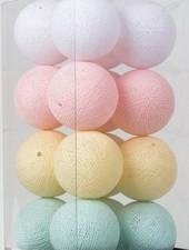 Cotton Ball Lights Fairtraide