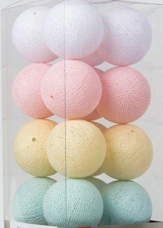 Cotton Ball Lights