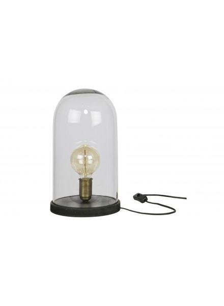 Sparkle Style glazen stolp lamp