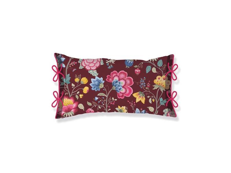 Pip studio sierkussen floral fantasy chestnut slaapvaak