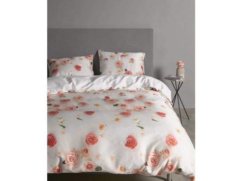 Licht Roze Dekbedovertrek : Essenza dekbedovertrek bed of roses pink slaapvaak