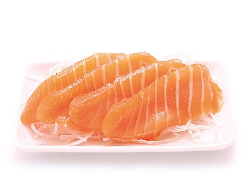 Verse zalm sashimi bestellen