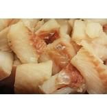 Kibbeling om zelf te bakken inclusief visbakmeel en kruiden