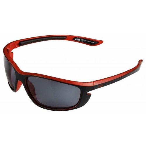 Gill  zonnebril Corona zwart-rood
