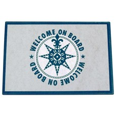 Marine business Blue on board deurmat