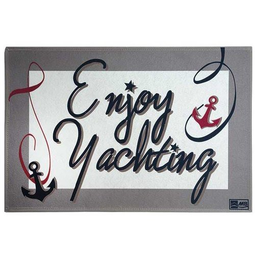 Marine business Enjoy yachting deurmat