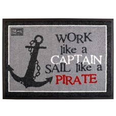 Marine business Pirate deurmat
