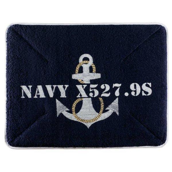 Anker badmat navy