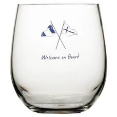 Marine business Welcome waterglas