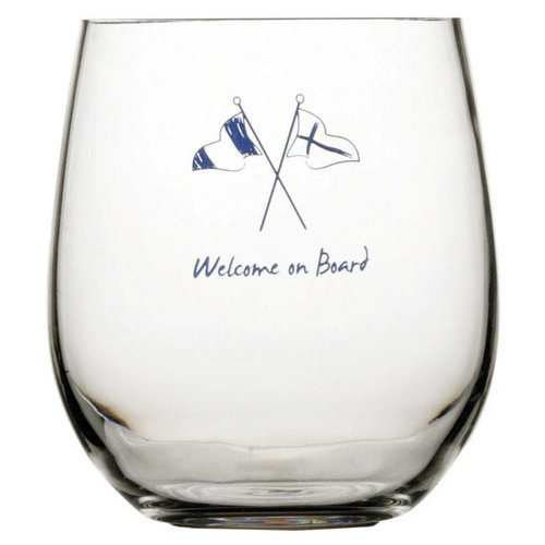 Marine business Welcome waterglas