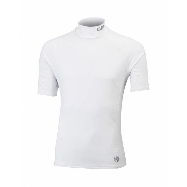 lycra shirt wit korte mouw