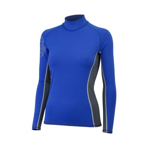 Gill  lycra shirt dames blauw