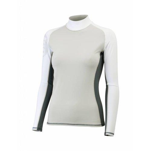 Gill  lycra shirt dames grijs