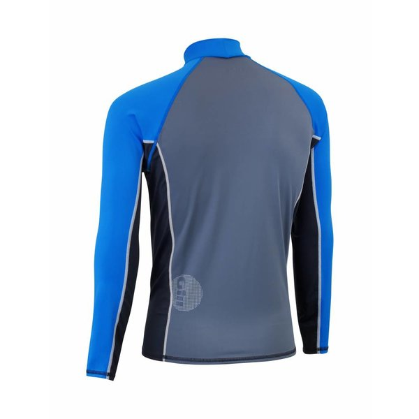 lycra shirt junior blauw