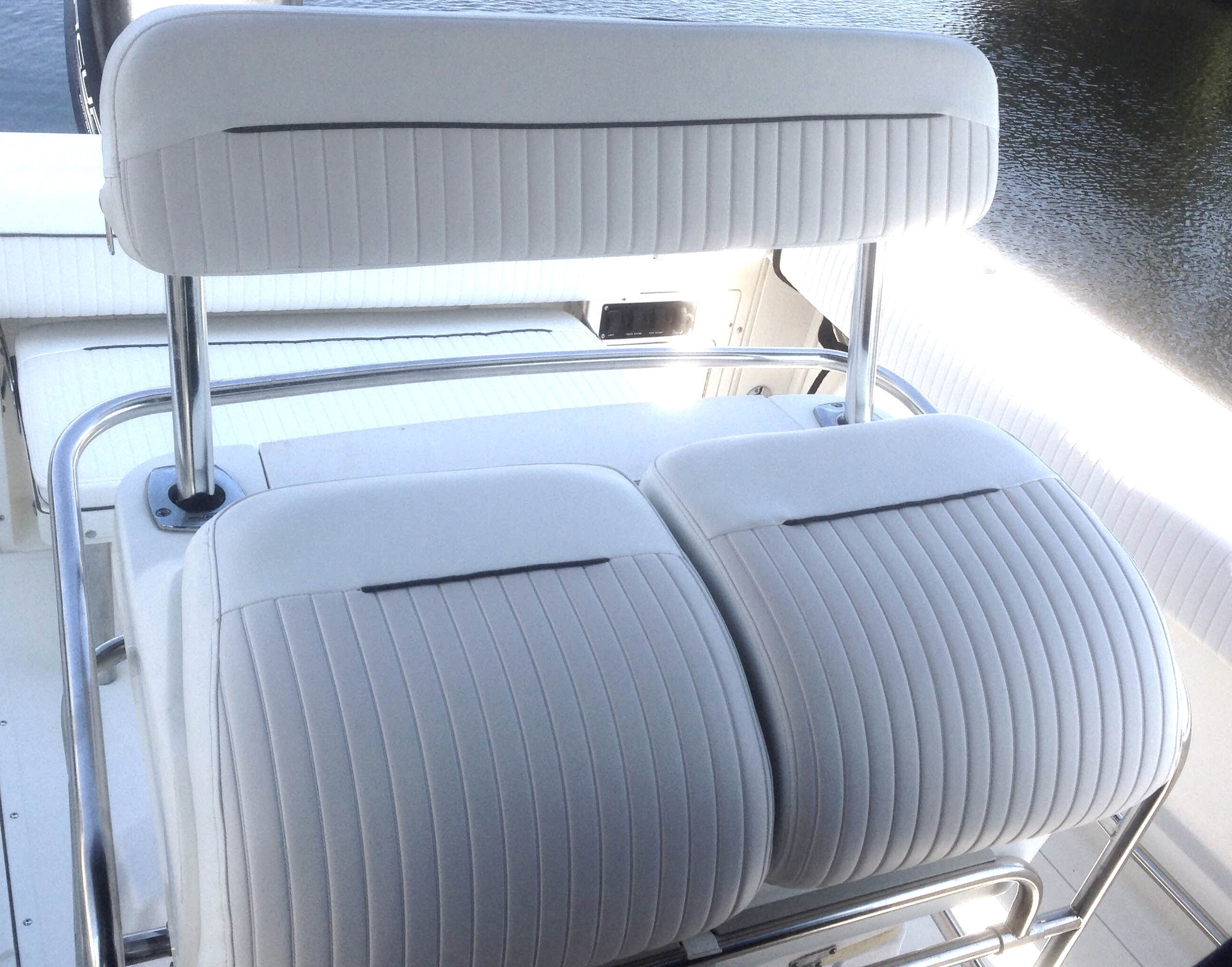 stoelen Boston whaler