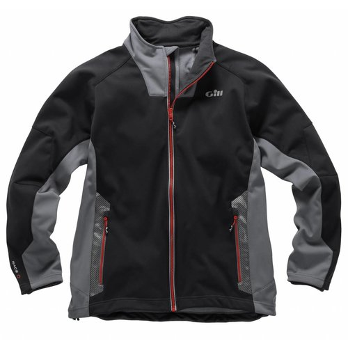 Gill  softshell jack RS Race zwart