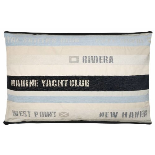 FS Home bootkussen club Royal Sailing ecru-l.blauw