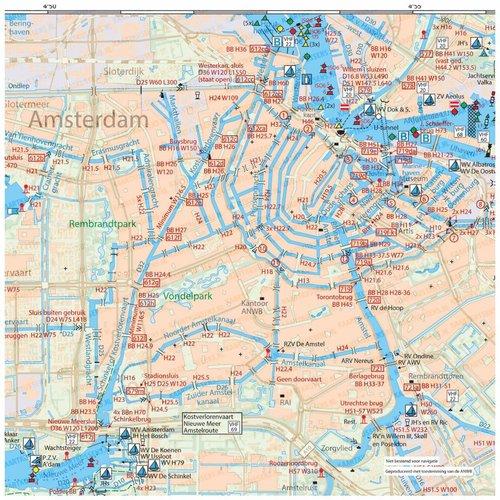 Kaartkussens kaartkussen Amsterdam stad