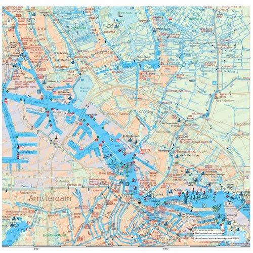 Kaartkussens kaartkussen het IJ Amsterdam