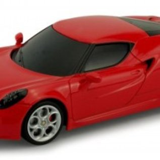 Welly Bestuurbare auto Alfa Romeo 4C 1:24