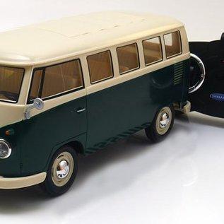 Welly Volkswagen RC Bus T1 Groen 1:16